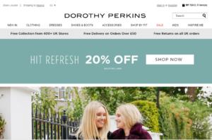 Dorothy Perkins Online Store