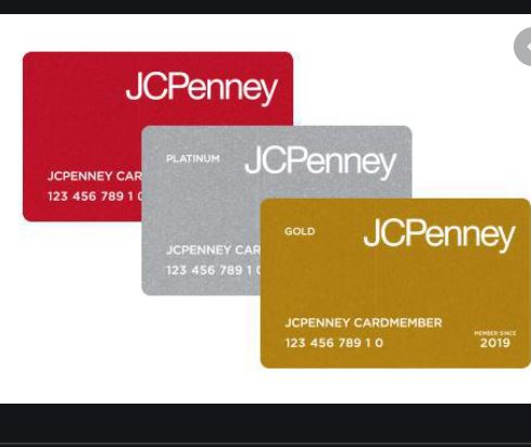 JCPenney Credit Card Payment Login